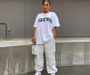 casual, outfit, and street style image