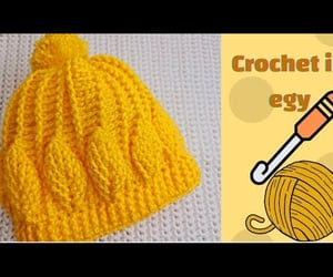 craft, crochet stitch, and كروشية image