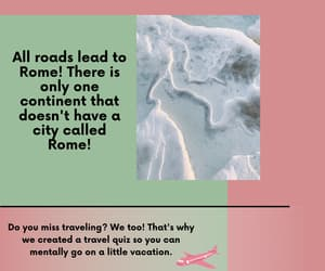 quiz, travel, and traveling image
