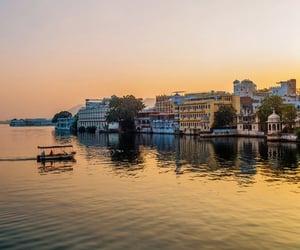 pichola lake and rajasthan india image