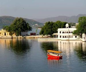udaipur, rajasthan india, and pichola lake image