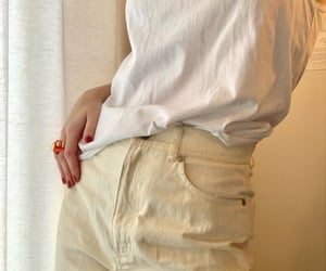 fashion, trend, and chunky ring image