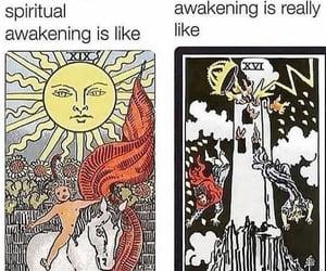 tarot, spiritual, and witch image