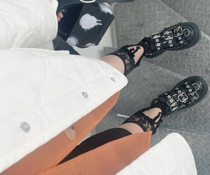 chunky shoes, comme des garcons, and fashion image