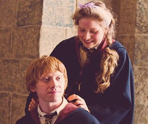couple, lavender brown, and half-blood prince image