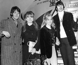 the beatles, jane asher, and Paul McCartney image