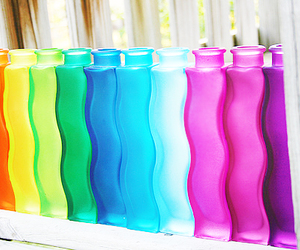 rainbow, colorful, and colors image