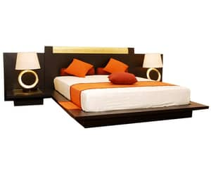 bed, bedroom furniture, and furniture image