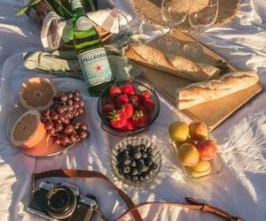 food, FRUiTS, and picnic image