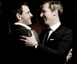 benedict cumberbatch and michael fassbender image