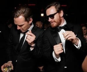michael fassbender and benedict cumberbatch image