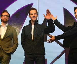 Avengers, benedict cumberbatch, and Marvel image
