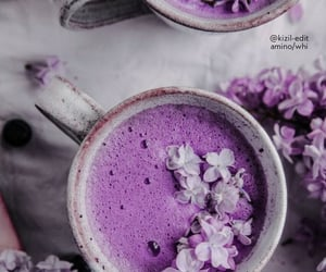 purple, asthetic, and cover image image