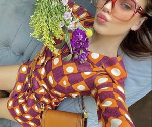 funky, everyday look, and flower bouquet image