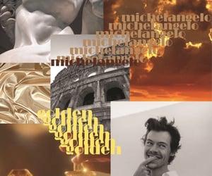 golden, michelangelo, and photoshop image