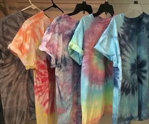 tie dye, tie & dye, and tie dye shirts image