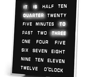 clock, led clock, and word clock image