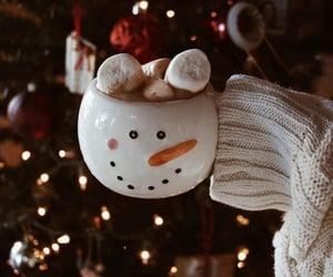 christmas, mug, and snow image