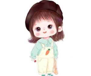 art, babies, and cute girl image