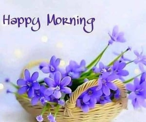 flowers, sweet morning, and happy morning image