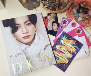 card, kpop, and music image