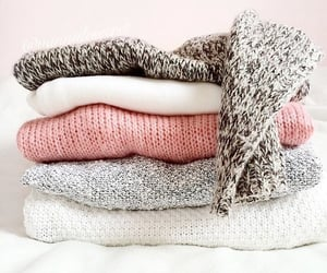 clothes, mug, and snow image