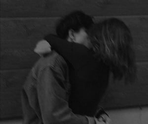 black and white, عناقك عناق, and romance romances image