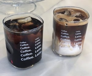coffee, drink, and latte image