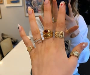 accessories, rings, and style image