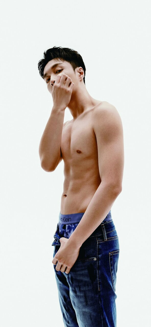 abs, guy, and kpop image