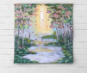 aesthetic, Oil Painting, and painting image