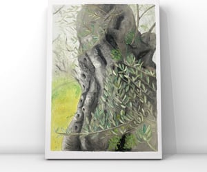 art, canvas, and nature image