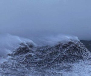ocean, sea, and storm image
