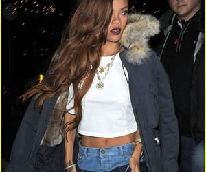 jeans, riri, and rihanna style image