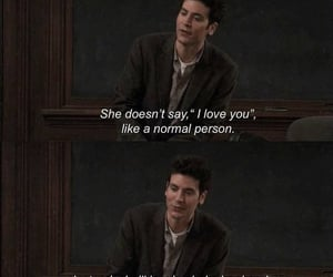 how i met your mother, I Love You, and laugh image