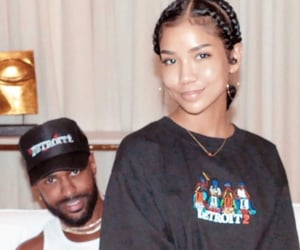 black, dating, and jhene aiko image