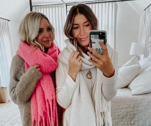 style, scarves, and winter image