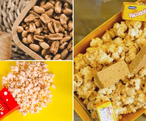 popcorn, paçoquita, and gourmet popcorn image