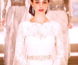 beauty, dress, and earrings image