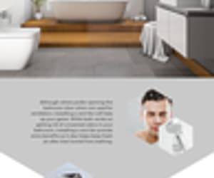 infographic, bathroom, and showerremodel image
