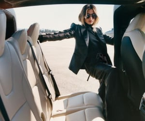 aeroplane, fashion, and girl image
