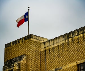 city, Texas, and architecture image
