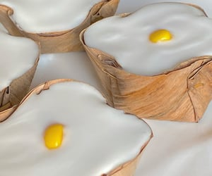 china, egg, and food image