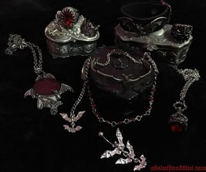 accessories, alternative, and goth image