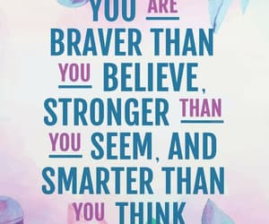 believe, smart, and think image