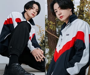 Fila, korean boy, and model image