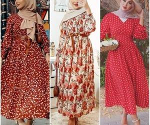 hijab and maxi dresses image