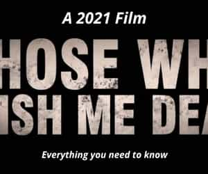 Angelina Jolie, thriller film, and those who wish me dead image
