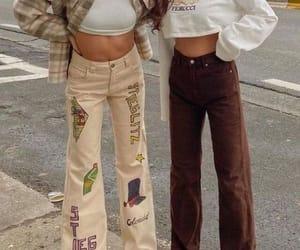 fashion, girls, and friend image