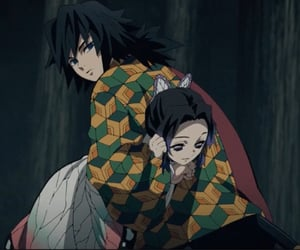 matching, shinobu, and kimetsu no yaiba image